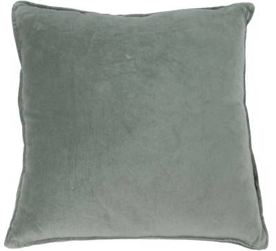 Cushion velvet dark army
