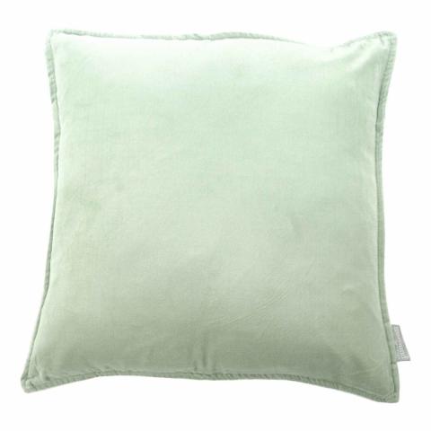 cushion velvet sea foam